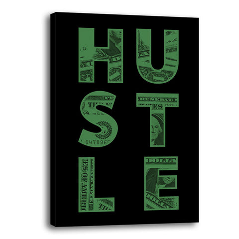 ''Hustle'' Canvas