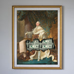 """King Louis XVI"" Gold Frame"