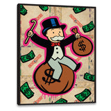 ''Monopoly Guy'' Canvas