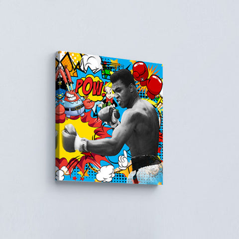 ''Muhammad Ali'' Canvas