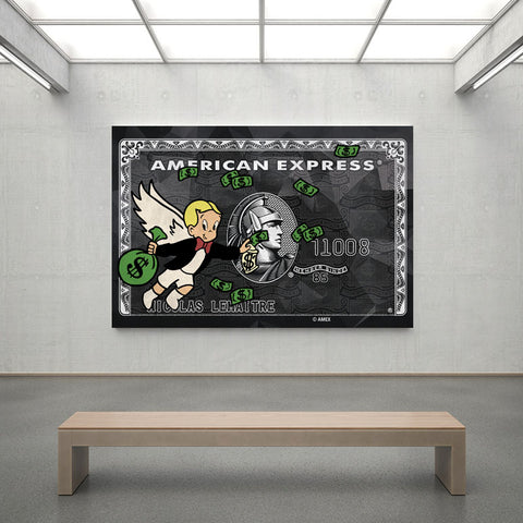 ''Rich Express'' Canvas