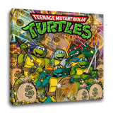 """Teenage Money Ninja Turtles"" Canvas"