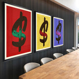"""Three of a Money"" Fineart"