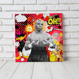''Mike Tyson'' Canvas
