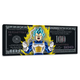 "''Vegeta Dollar"" Canvas"