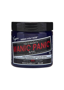 Manic Panic Classic Cream Hair Colour - Rockabilly Blue - Kate's Clothing