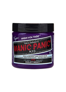Manic Panic Classic Cream Hair Colour - Violet Night - Kate's Clothing