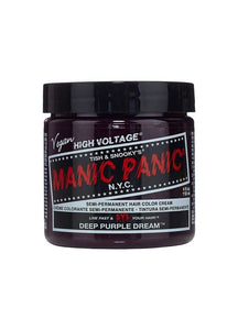 Manic Panic Classic Cream Hair Colour - Deep Purple Dream - Kate's Clothing