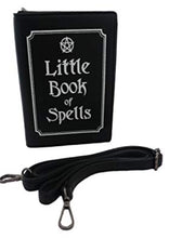 Load image into Gallery viewer, Gothx Little Book Of Spells Bag - Kate's Clothing