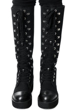 Load image into Gallery viewer, Killstar Despair Combat Boots - Kate's Clothing