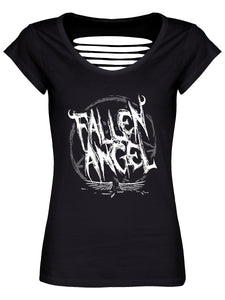 Fallen Angel Razor Back T-Shirt - Kate's Clothing
