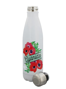 Stainless Steel Cyanide Water Bottle - Kate's Clothing