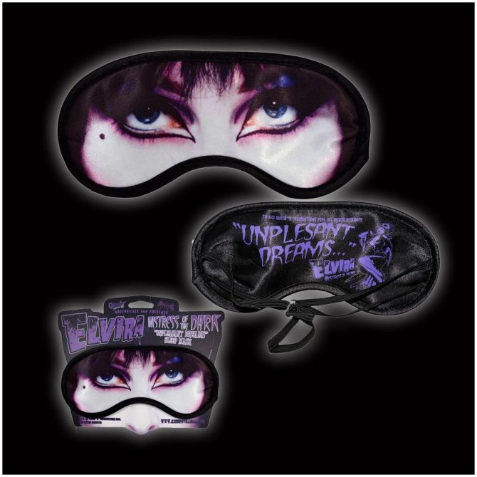 Kreepsville 666 Elvira Sleep Mask - Kate's Clothing