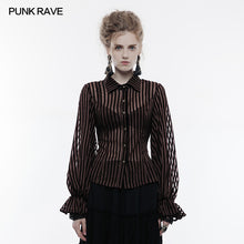 Load image into Gallery viewer, Punk Rave Temptress Shirt - Kate's Clothing