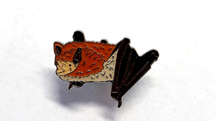 Bat Conservation Trust Daubenton's Bat Pin Badge - Kate's Clothing