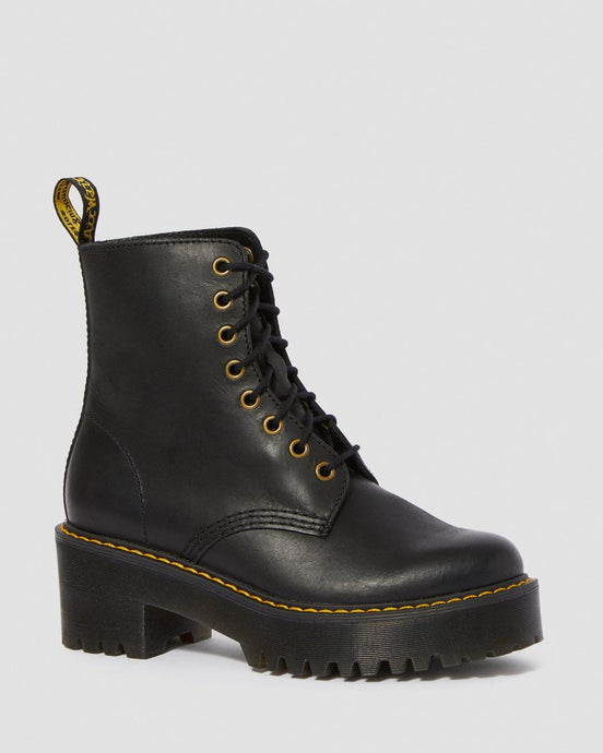 Dr. Martens Shriver Hi Leather Boots - Kate's Clothing