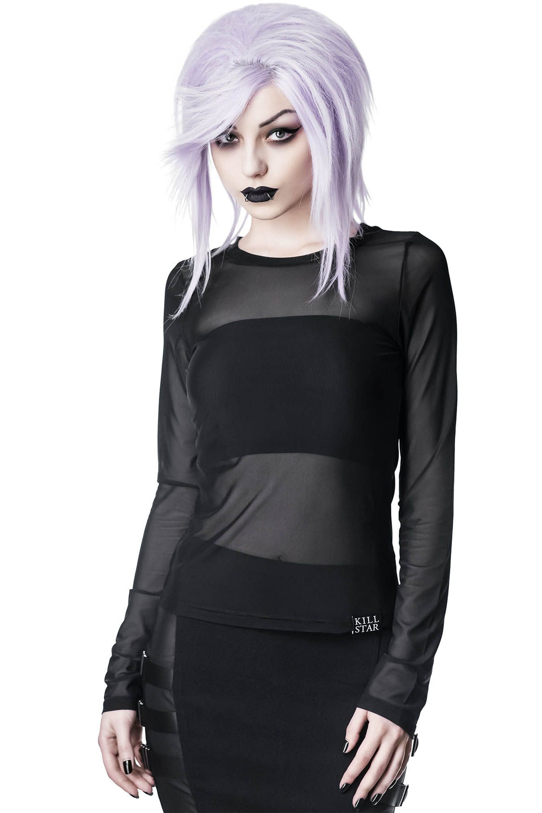 Killstar Bytes Mesh Top - Kate's Clothing