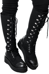 Killstar Despair Combat Boots - Kate's Clothing