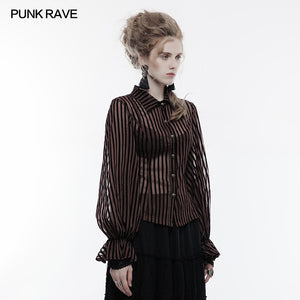 Punk Rave Temptress Shirt - Kate's Clothing