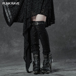 Punk Rave Gothic Leg Warmers - Kate's Clothing