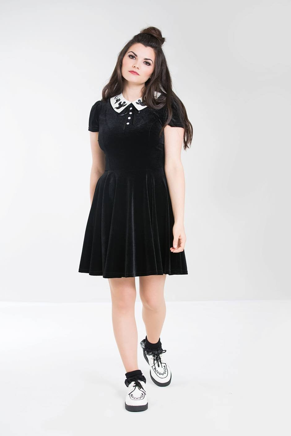 Hell Bunny Casper Mini Dress - Kate's Clothing