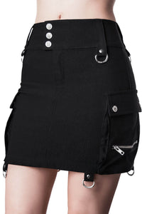 Killstar Commodore Cargo Skirt - Kate's Clothing