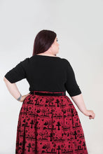Load image into Gallery viewer, Hell Bunny Plus Size Philippa Top - Kate's Clothing