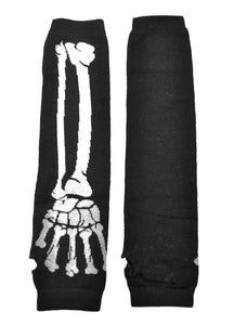 Poizen Industries Bone Arm Warmers - Kate's Clothing