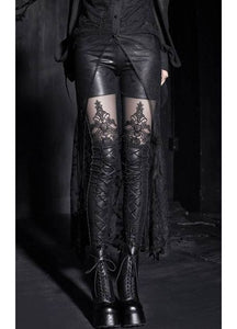 Punk Rave Macbeth Leggings - Kate's Clothing