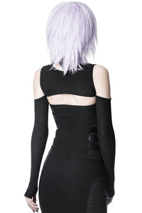 Killstar Wired Mesh Bolero - Kate's Clothing