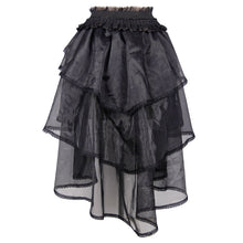 Load image into Gallery viewer, Devil Fashion Organza Swallowtail Skirt