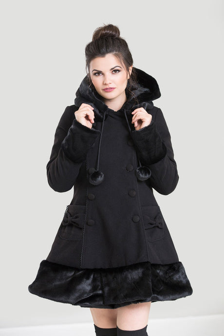 Hell Bunny Sarah Jane Coat - Kate's Clothing
