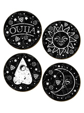 Load image into Gallery viewer, Ouija Coaster Set - Kate's Clothing
