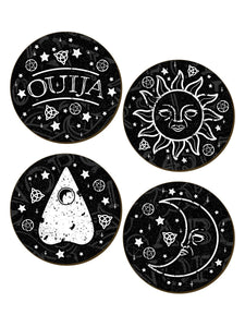 Ouija Coaster Set - Kate's Clothing