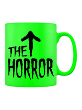 Load image into Gallery viewer, The Horror Neon Green Mug - Kate's Clothing