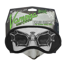 Load image into Gallery viewer, Kreepsville 666 Vampire Sleep Mask - Kate's Clothing