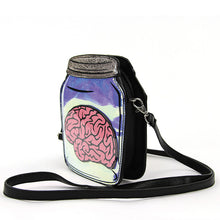 Load image into Gallery viewer, Sleepyville Critters Brain In A Jar Bag - Kate's Clothing