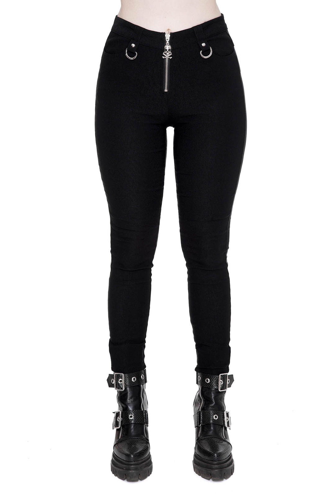 Killstar Jessie Capri Trousers - Kate's Clothing
