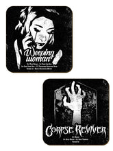 Load image into Gallery viewer, Spooky Cocktails Coaster set - Kate's Clothing
