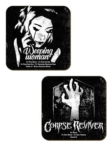 Spooky Cocktails Coaster set - Kate's Clothing