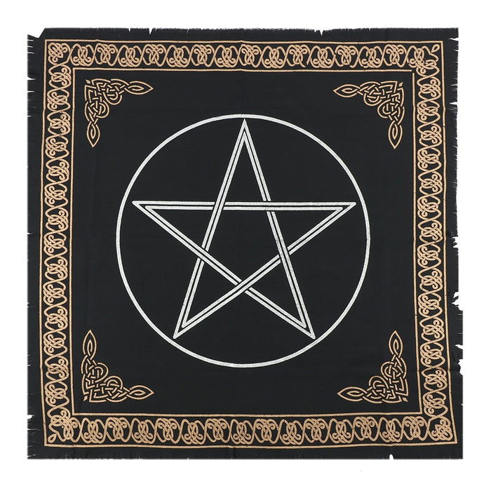 Gothic Gifts Pentacle Altar Cloth