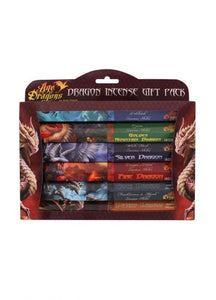 Gothic Gifts Pack Of 6 Age Of Dragons Incense - Kate's Clothing
