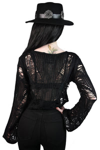 Killstar Anica Knit Sweater - Kate's Clothing