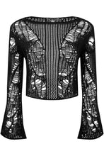 Load image into Gallery viewer, Killstar Anica Knit Sweater - Kate's Clothing