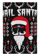 Load image into Gallery viewer, Necessary Evil Hail Santa Xmas Jumper