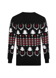 Necessary Evil Hail Santa Xmas Jumper