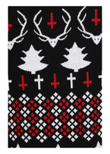Load image into Gallery viewer, Necessary Evil Hail Santa Xmas Jumper - Kate's Clothing