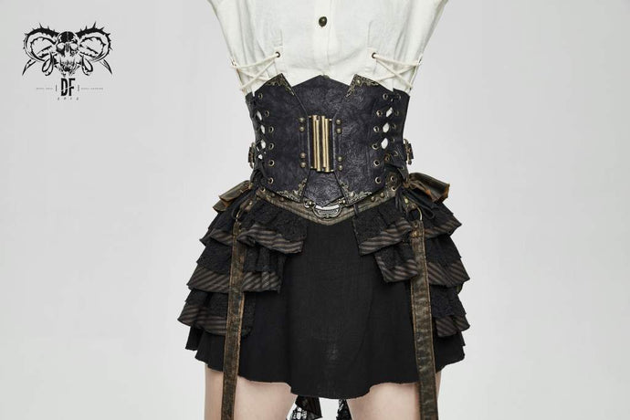 Devil Fashion Steampunk Waist Clincher - Kate's Clothing