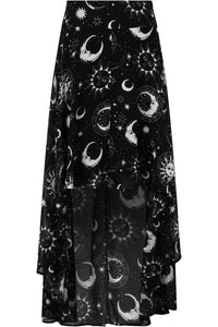 Killstar Astal Light Maxi Skirt - Kate's Clothing