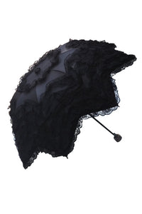 Dark In Love Audrey Telescopic Umbrella - Kate's Clothing